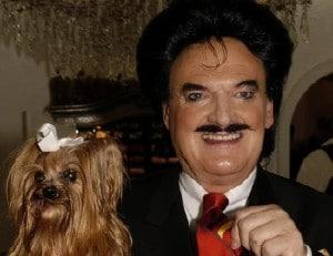 Rudolph Moshammer mit Hund Daisy, 2004